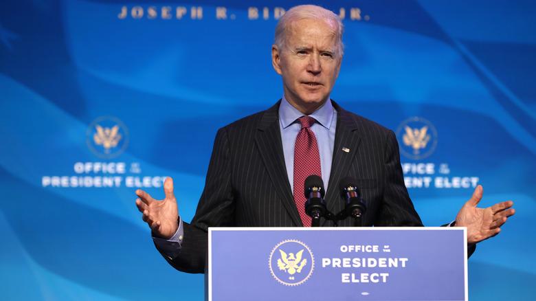 President-Elect Joe Biden Speaking