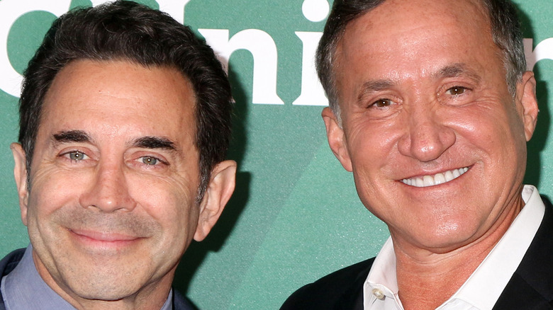 Botched doctors Terry Dubrow and Paul Nassif pose together