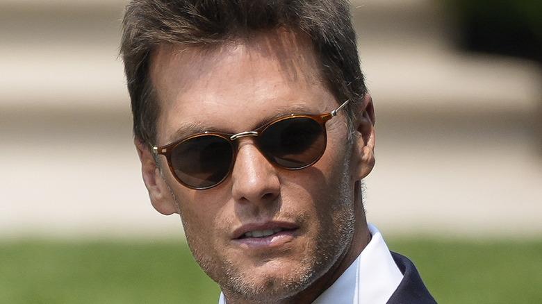 Tom Brady at White House, July 20, 2021