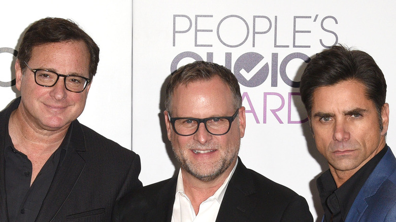 Bob Saget with Dave Coulier and John Stamos