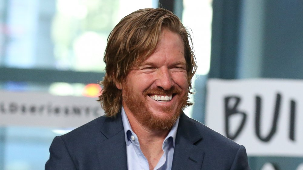 Chip Gaines, smiling in an interview