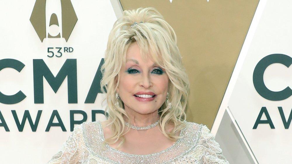 Dolly Parton at the CMAs