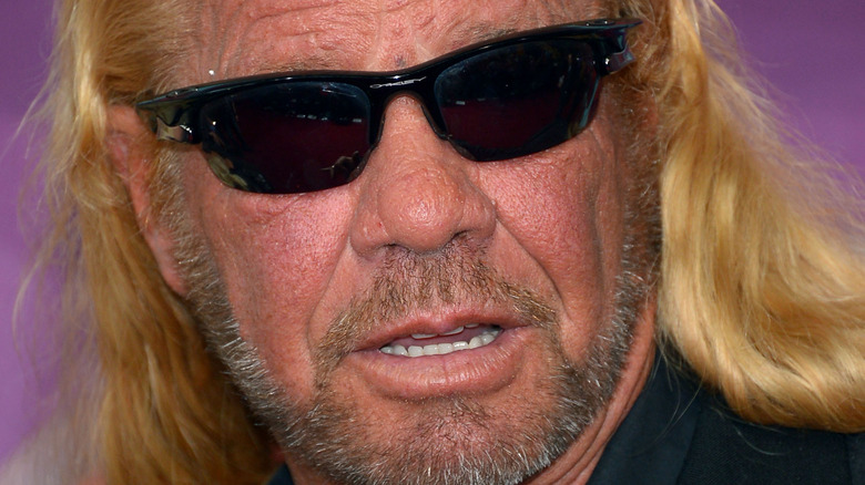 Dog the Bounty Hunter on the red carpet