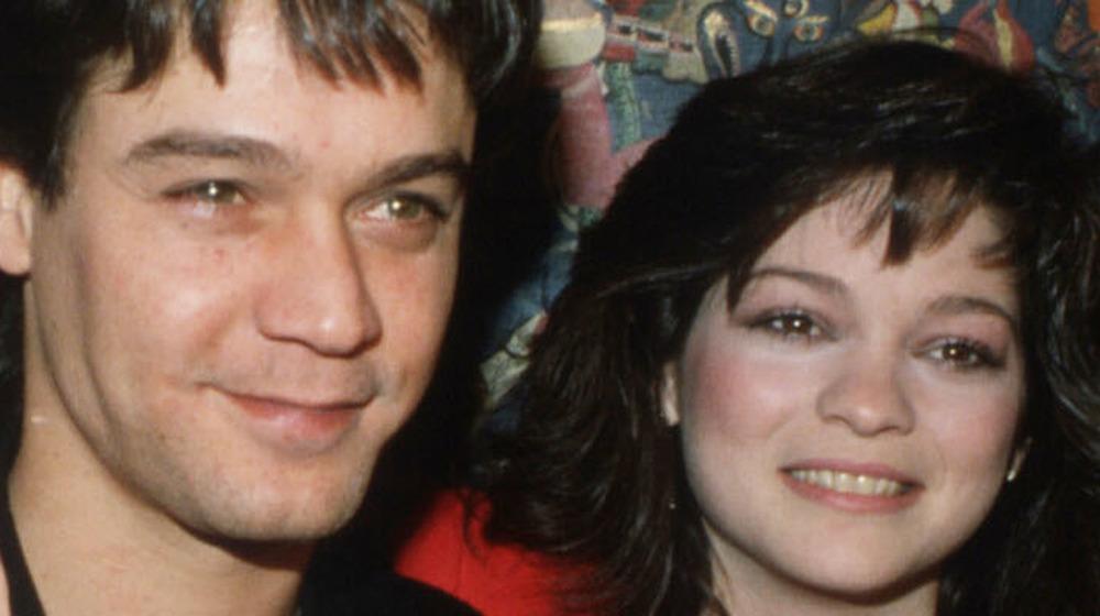 Eddie Van Halen and Valerie Bertinelli in New York City