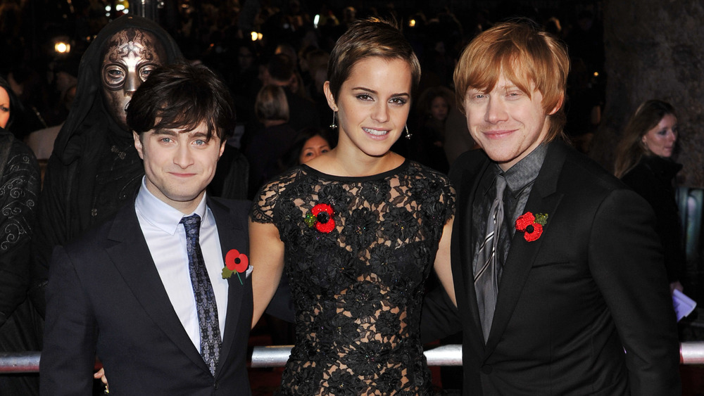 Harry Potter's Harry, Hermione, Ron