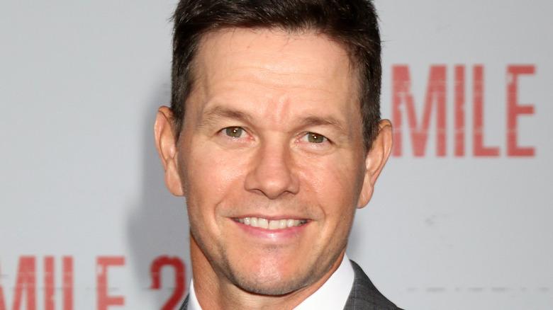 Mark Wahlberg smiling