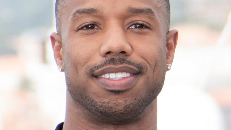 Michael B. Jordan smiling