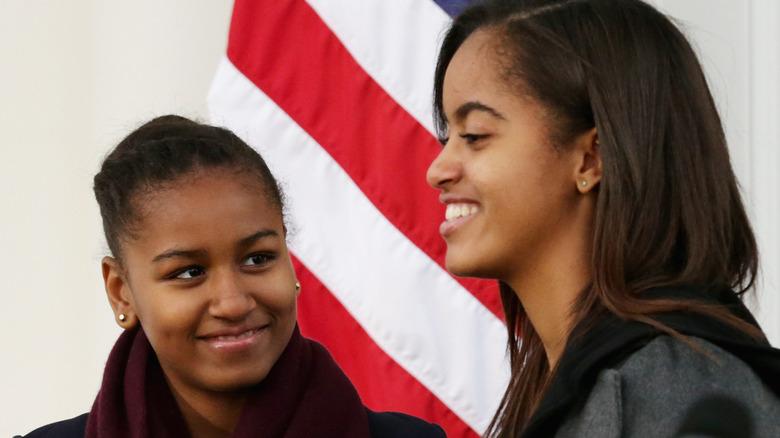 Obama sisters Malia and Sasha