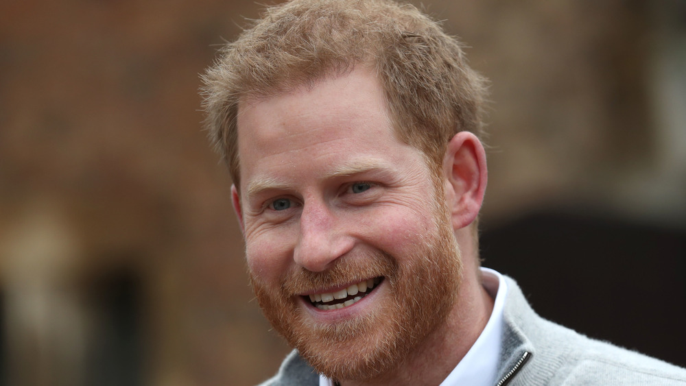 Prince Harry attending an event
