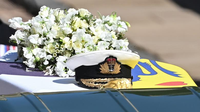 Prince Philip casket
