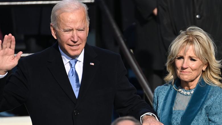 President Joe Biden and Jill Biden