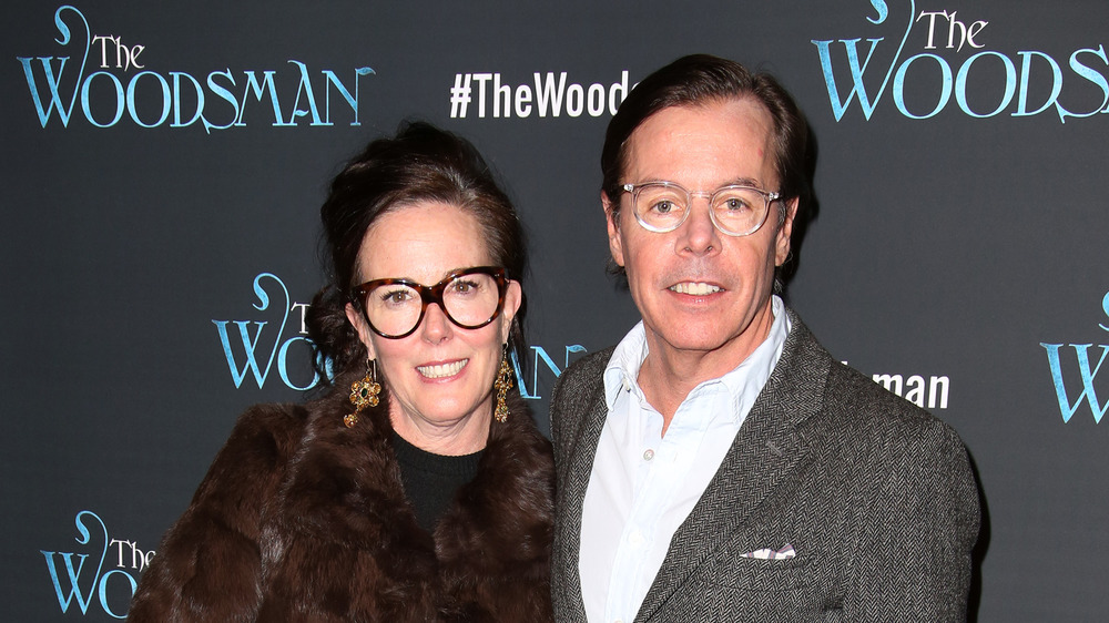 Andy Spade, Kate Spade at an event