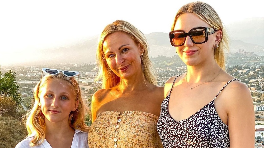 Christi Lukasiak with her daughters