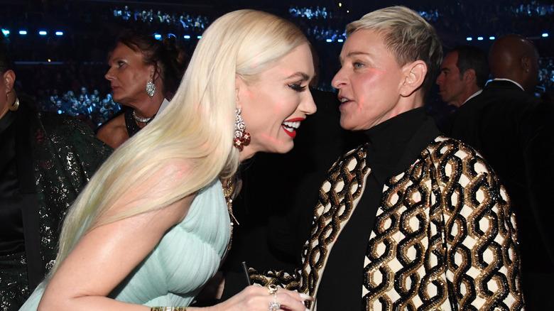 Ellen DeGeneres with Gwen Stefani