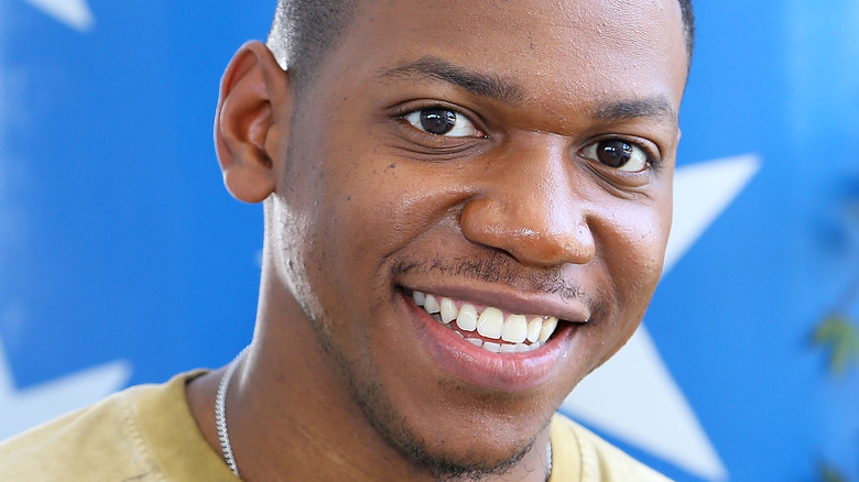 Chris Blue smiling