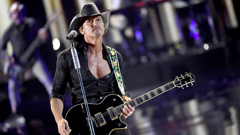 Country musicartist, Tim McGraw