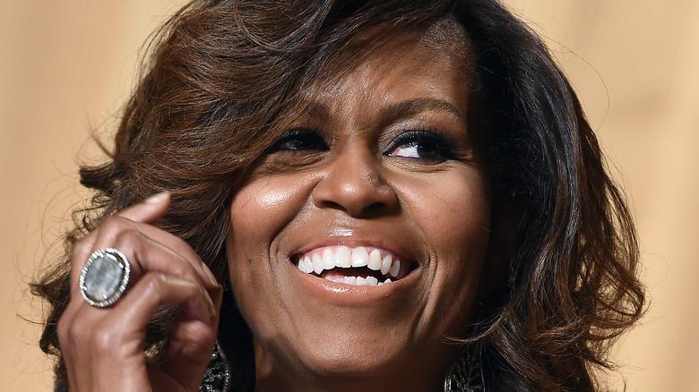 Michelle Obama close-up