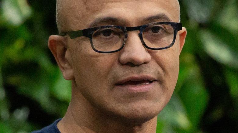 File: Microsoft CEO Satya Nadella