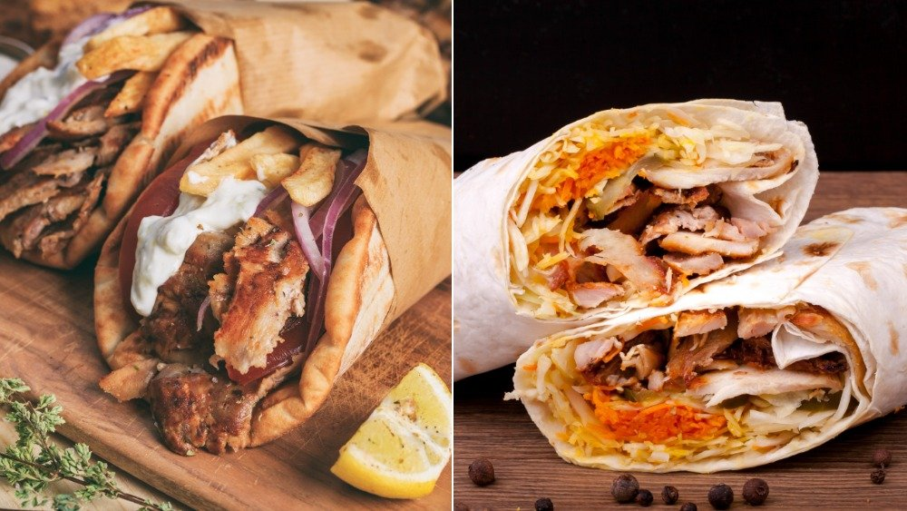 Gyro; Shawarma