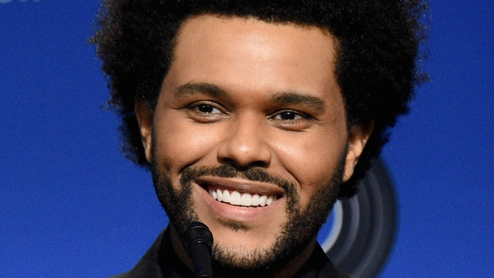 The Weeknd halftime press conference