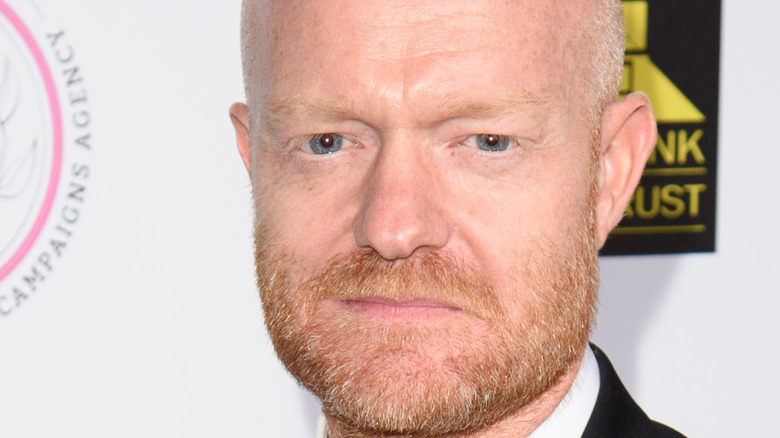 Jake Wood with a serious face