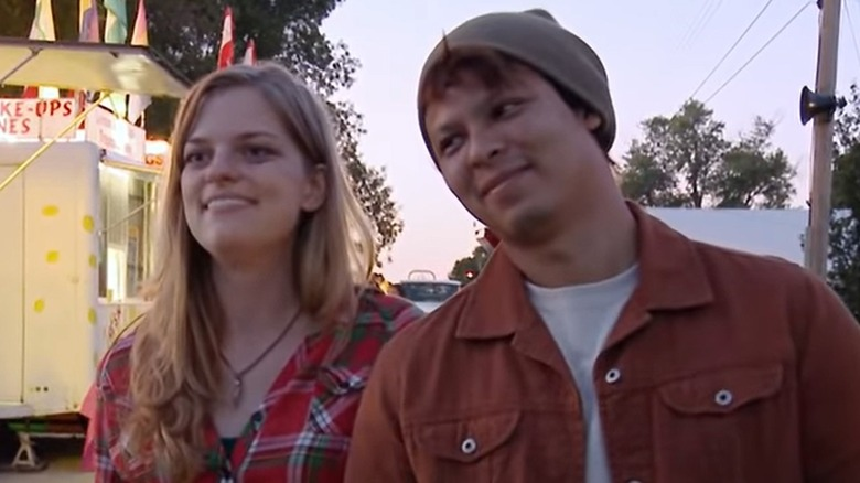 Chelsea and Yamir from 90 Day Fiancé
