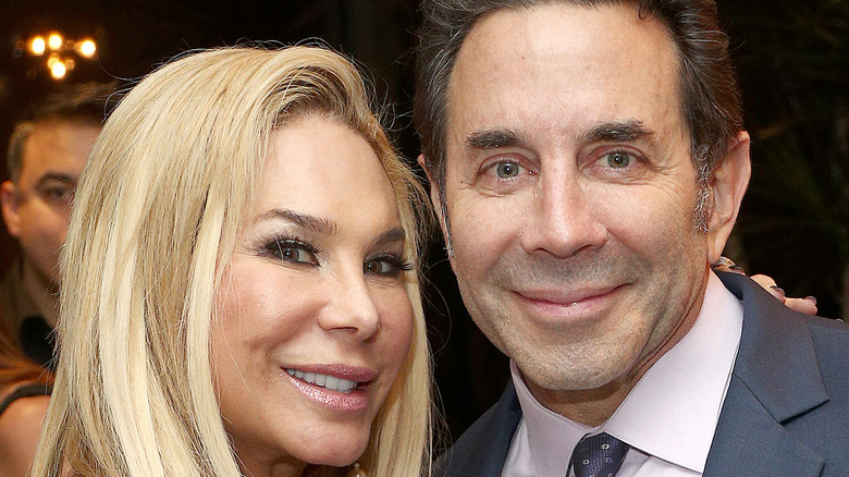 Adrienne Maloof and Paul Nassif snuggle up