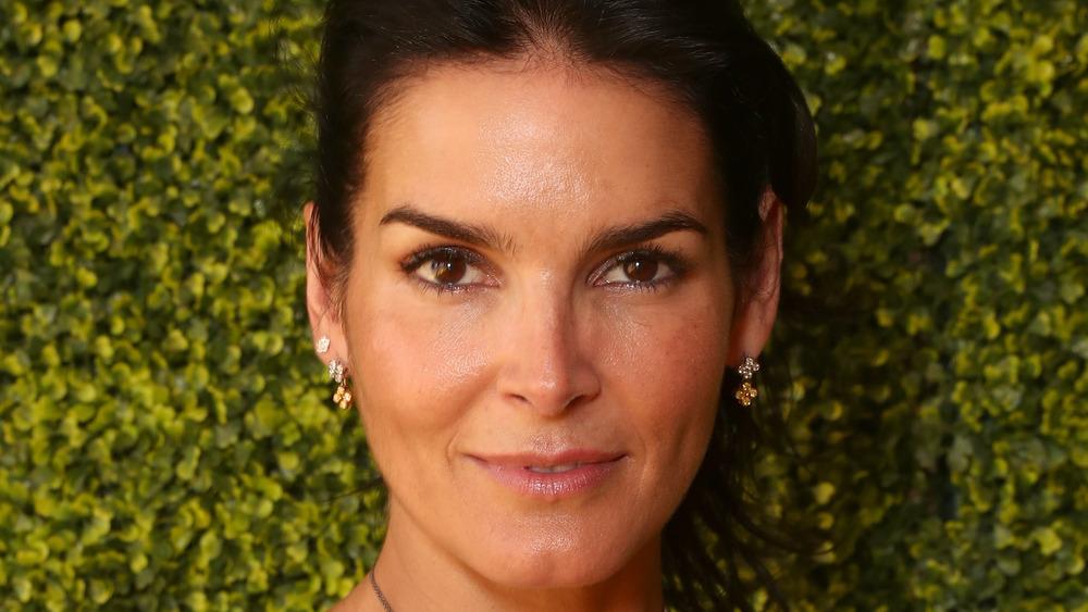 Angie Harmon close-up