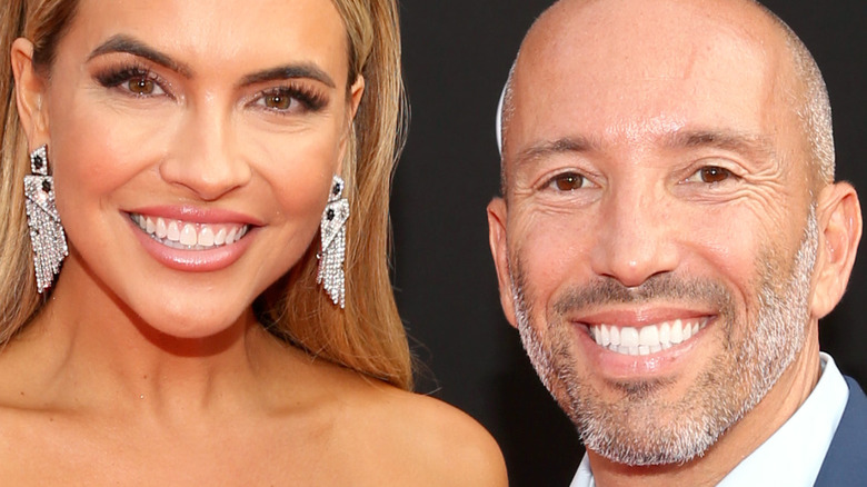 Chrishell Stause and Jason Oppenheim make red carpet debut as couple