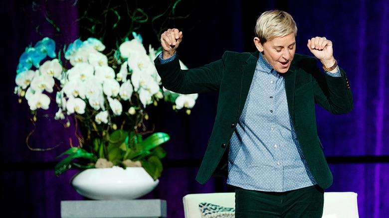 Ellen dancing