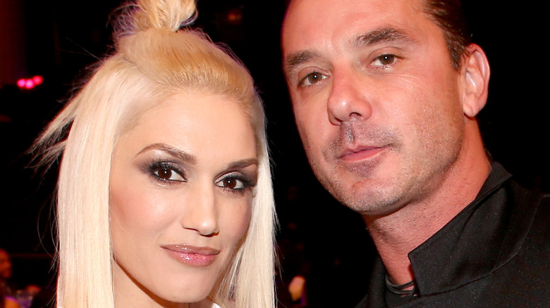 Gwen Stefani and Gavin Rossdale at event
