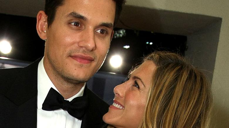 Jennifer Aniston and John Mayer at the 2009 Oscars
