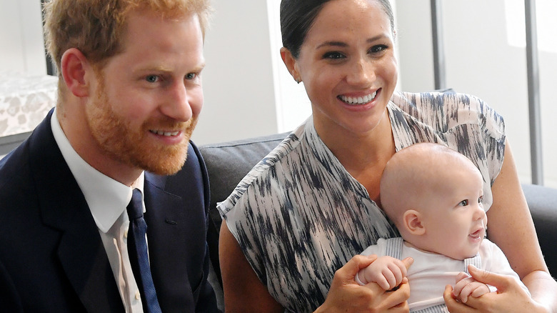 Prince Harry, Meghan, and Archie