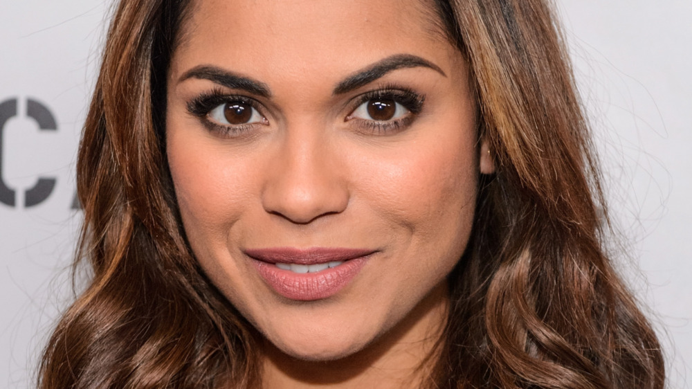 Chicago Fire's Monica Raymund Smiles at Camera