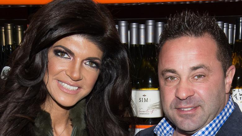 Teresa Giudice and Joe Giudice smiling
