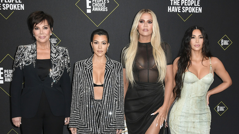 The Kardashian ladies on the red carpet