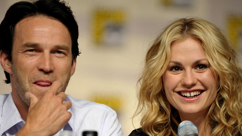 Anna Paquin and Stephen Moyer from True Blood