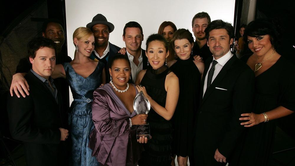Grey's Anatomy cast 2007