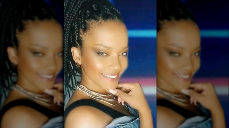 Rihanna look-alike Priscila Beatrice