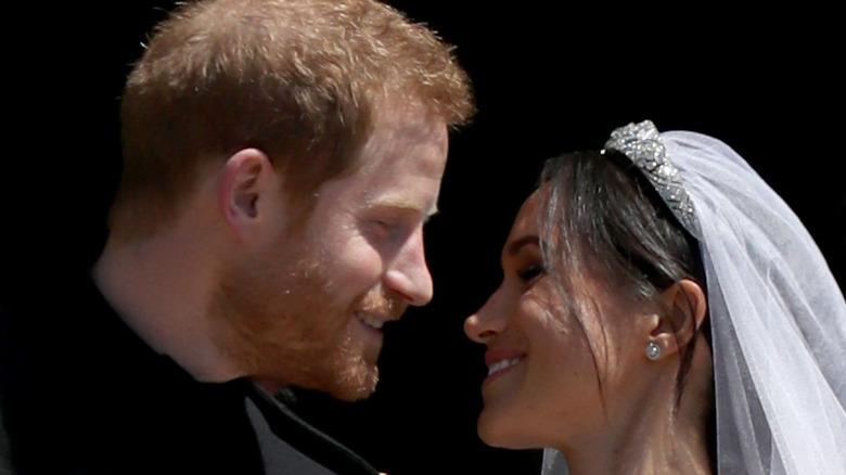Meghan Markle and Prince Harry wedding day