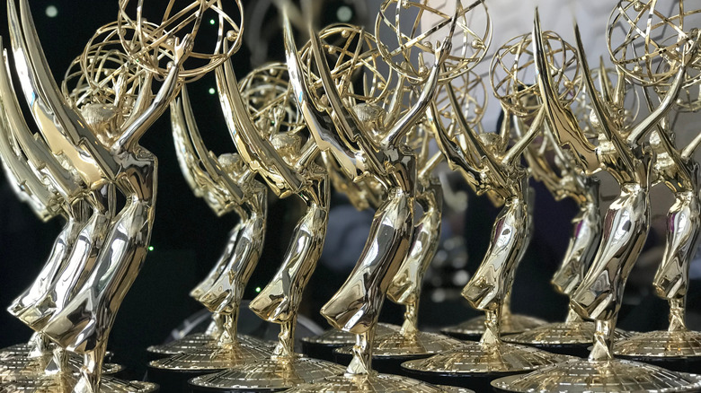 Emmy statuettes