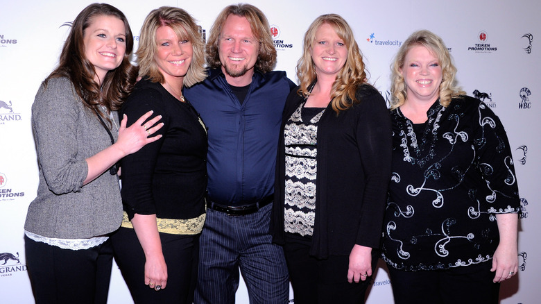 The cast of Sister Wives attends an event