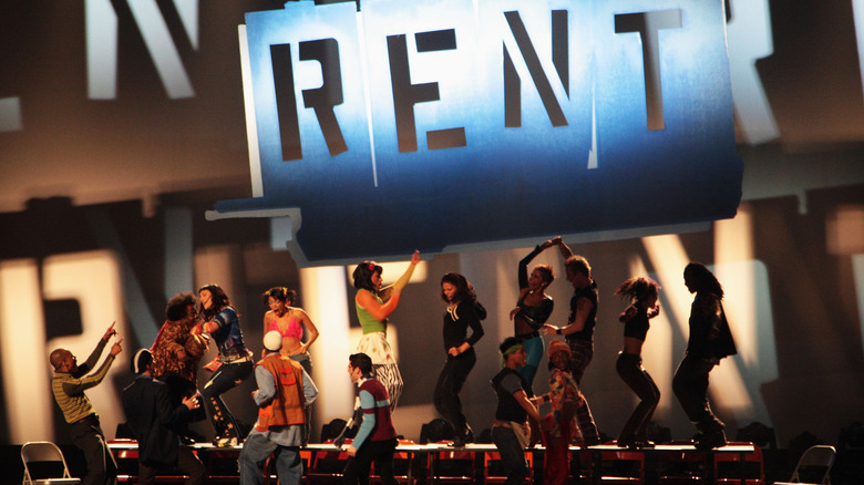 Cast of rent mid performance