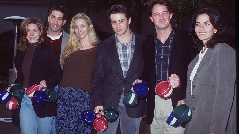 Friends actors in 1995