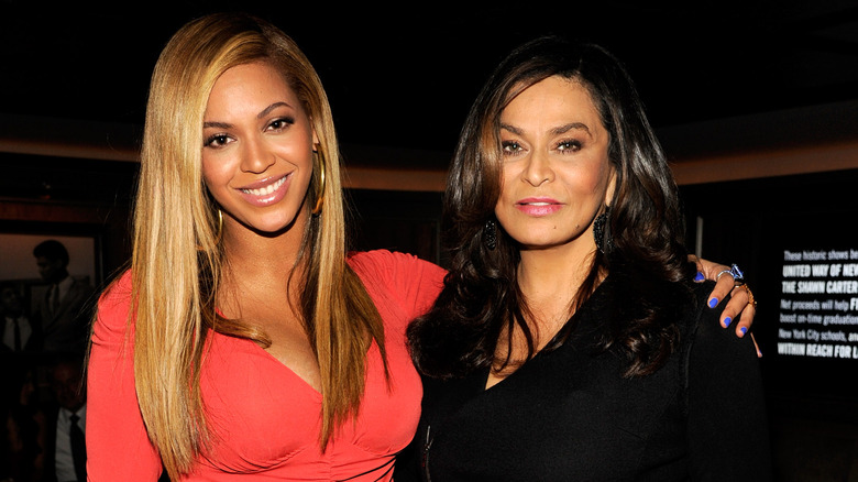 Beyoncé and her mom, Tina Knowles-Lawson
