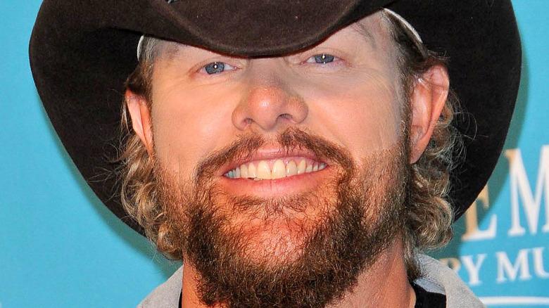 Toby Keith black cowboy hat