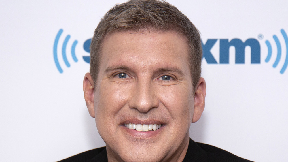 Todd Chrisley on the red carpet