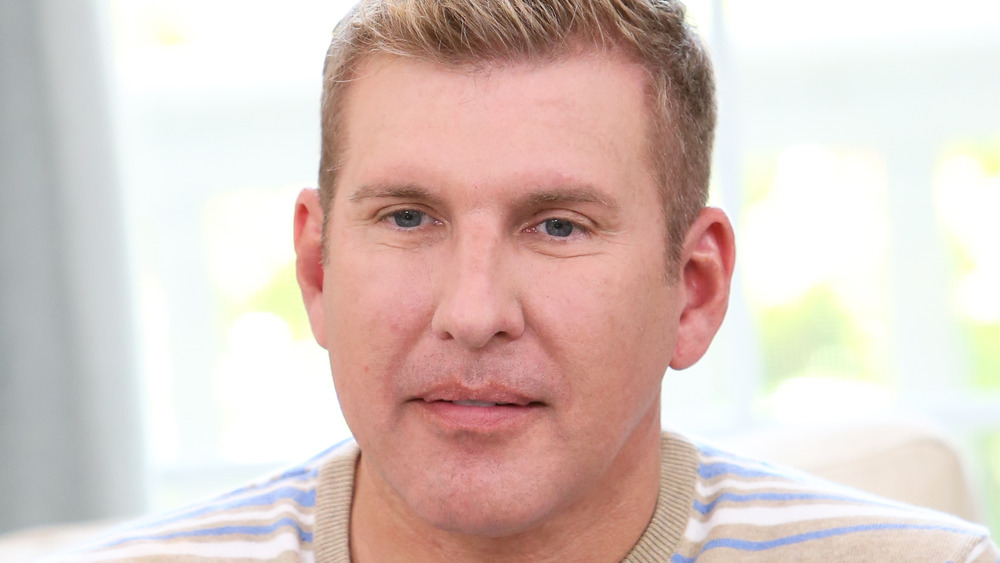 Todd Chrisley looking thoughtful