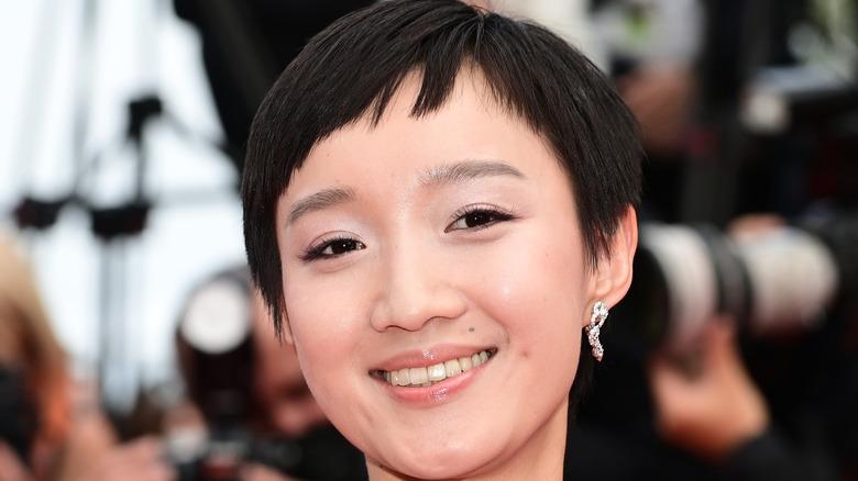 Huang Miyi smiling