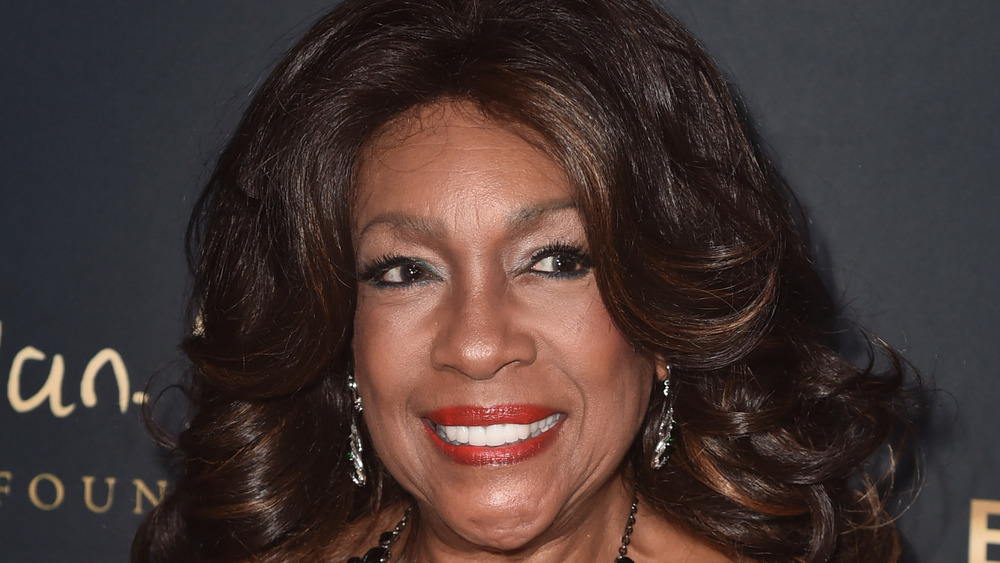 Mary Wilson smiling at event